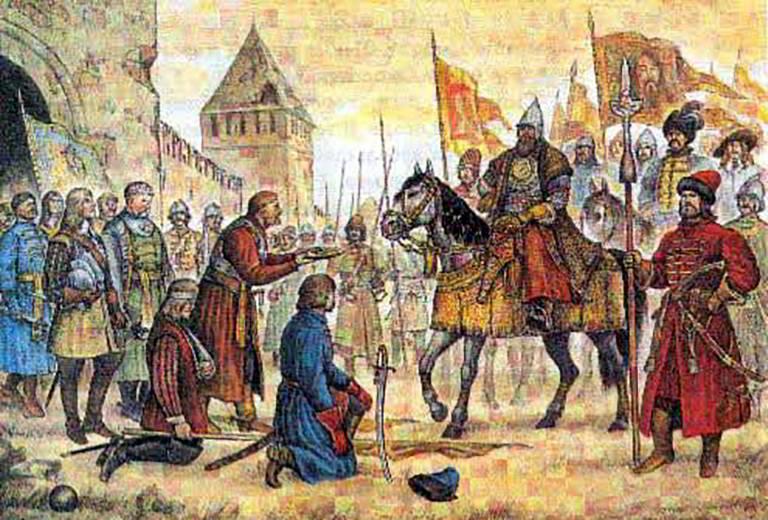Кто был царем на руси в 1609 г